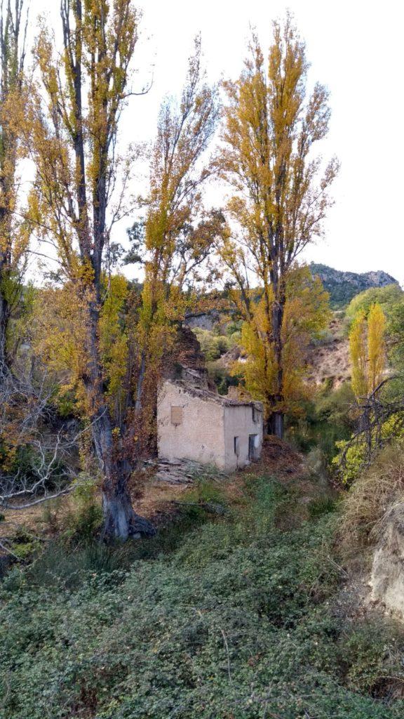 Salto de agua en el arroyo La Zorrera